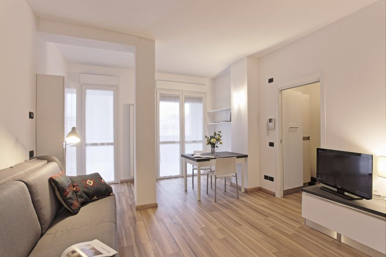 Lovely studio apartment for rent in Bovisa, Milan