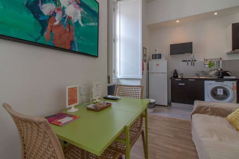 Studio apartment for rent in Santa Maria Maior, Lisbon