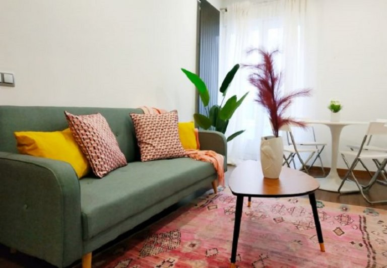 Vibrant 2-bedroom apartment for rent in Salamanca, Madrid