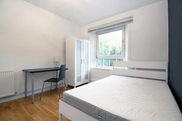 Bedroom 1, couple-friendly with double bed