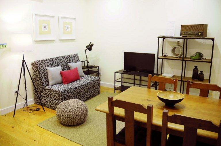 Arroios, Lizbon kiralık 1-yatak odalı daire