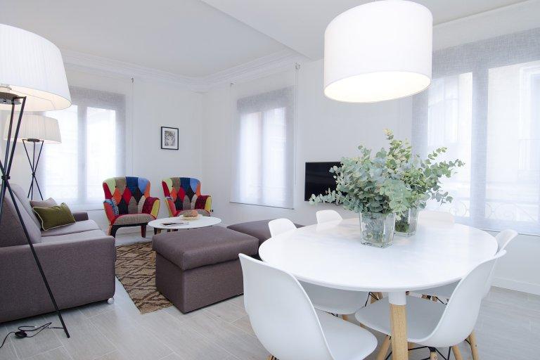 Impressionnant appartement de 4 chambres à louer à Lavapiés, Madrid