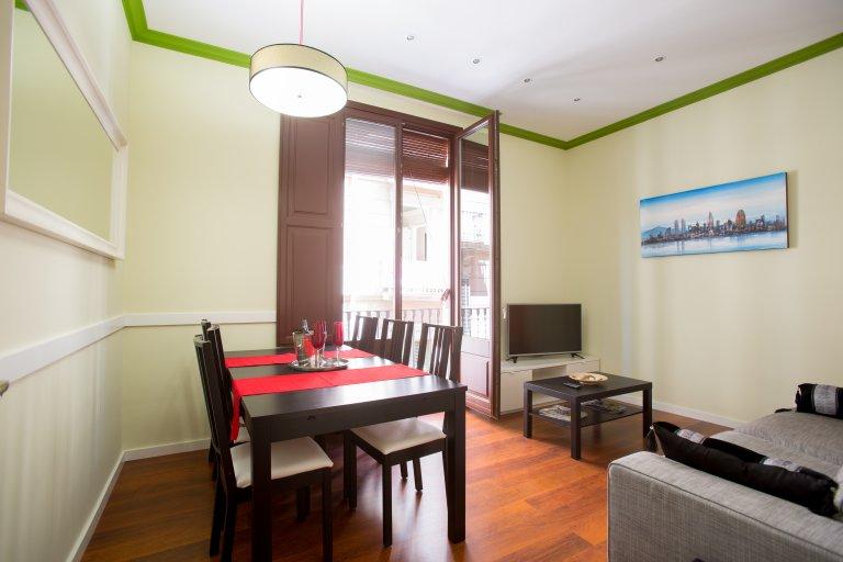 4-bedroom apartment for rent, El Raval, Barcelona