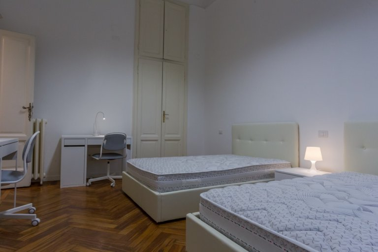 Twin Beds in Rooms for rent in fantastic 4-bedroom apartment in Buenos Aires