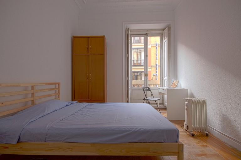 Bedroom 1 - Double bed, exterior