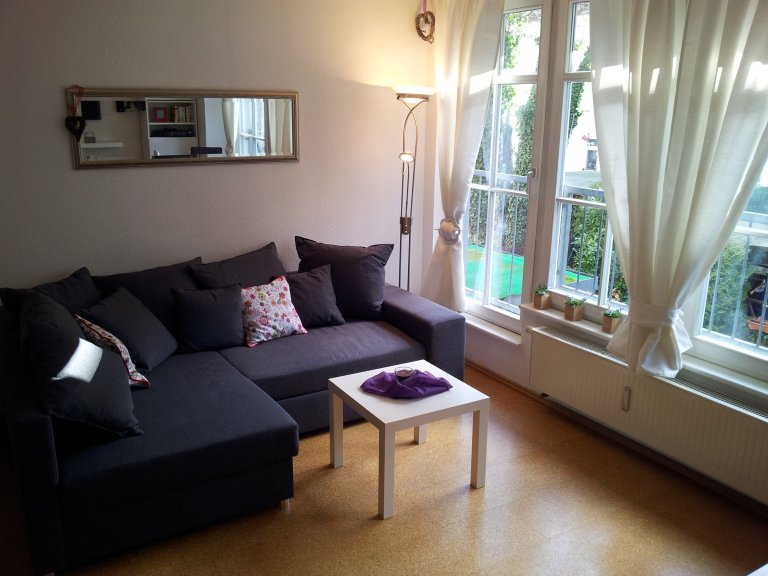 Charming 2-bedroom apartment for rent in Pankow