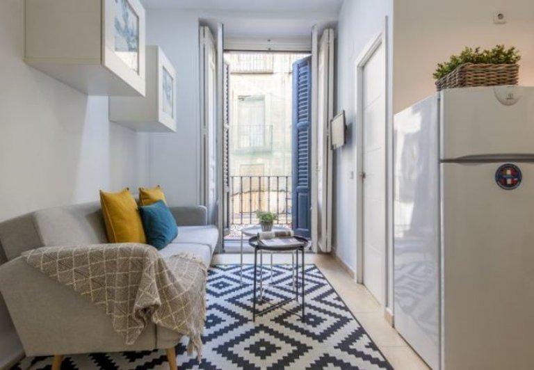 1-pokojowe mieszkanie do wynajęcia w Centro, Madryt