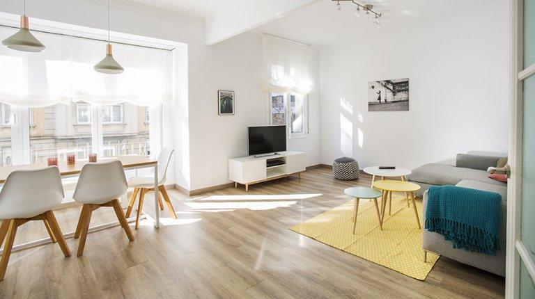 Charmant appartement de 2 chambres à louer à Gràcia, Barcelone
