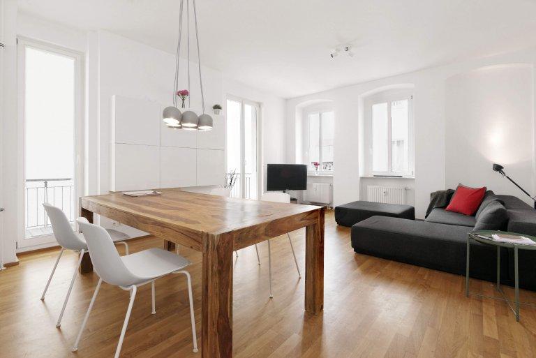 Appartement moderne avec 4 chambres à louer à Mitte, Berlin