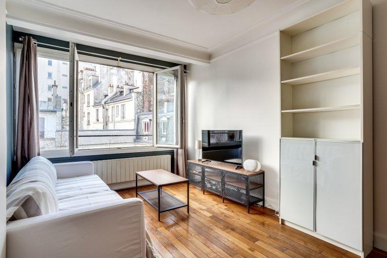 Apartamento de 1 quarto para alugar em Épinettes, Paris