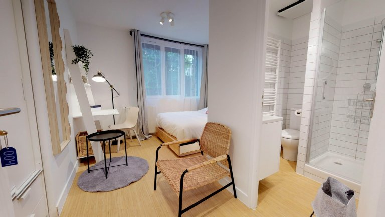 Rooms for rent - 12-bedroom coliving - Noisy-le-Grand, Paris