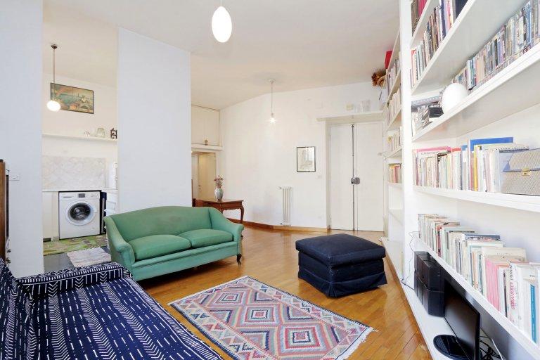 Apartamento de 1 dormitorio en alquiler en Pinciano, Roma