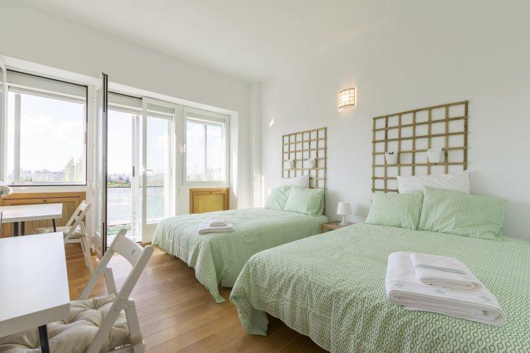 Bedroom 6 - Double beds