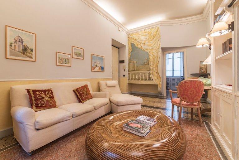 Apartamento com 2 quartos para alugar em Prati, Roma