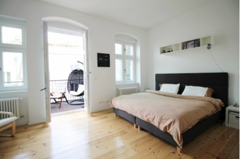 Apartment with 3 bedrooms for rent in Friedrichshain, Berlin