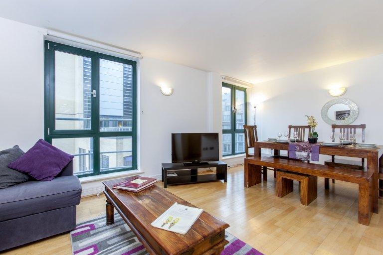 2-pokojowe mieszkanie do wynajęcia w Tower Hamlets w Londynie