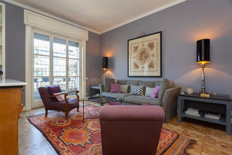 Apartamento com 2 quartos para alugar em Stazione Centrale