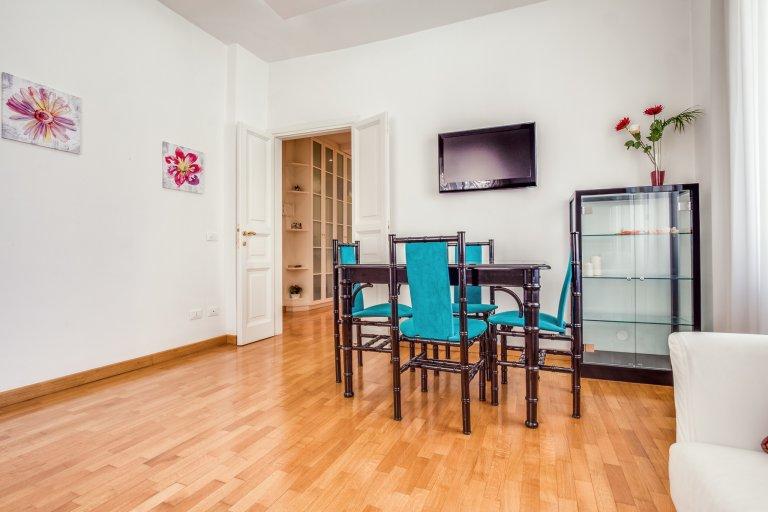 Apartamento de 2 quartos para alugar em San Giovanni, Roma