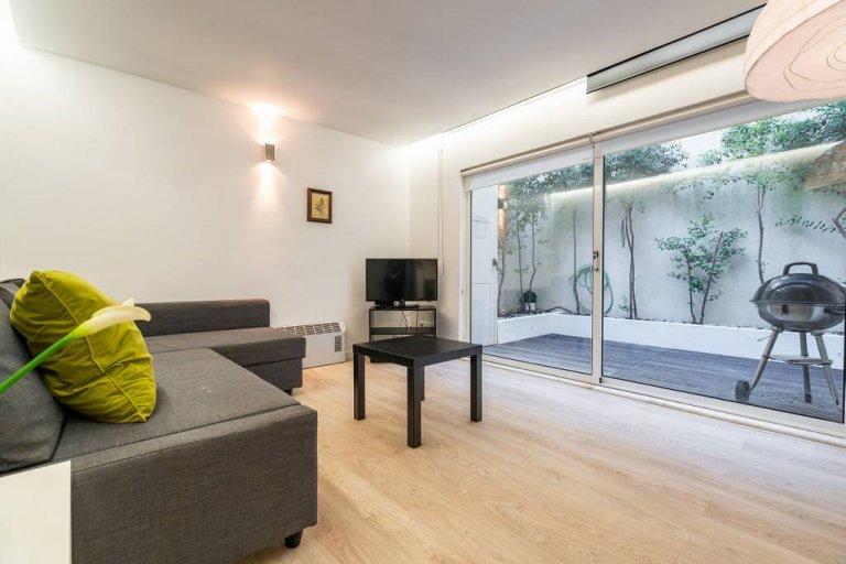 Ciche mieszkanie z 1 sypialnią do wynajęcia w Penha de França