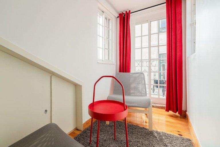 Przytulne 1-pokojowe mieszkanie do wynajęcia w Barrio Alto w Lizbonie