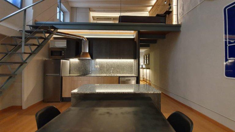 Stylish 1-bedroom apartment for rent in El Born, Barcelona