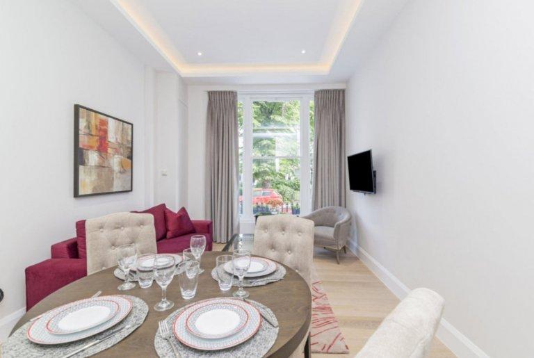 Nowoczesne mieszkanie z 2 sypialniami do wynajęcia w Westbourne Green w Londynie