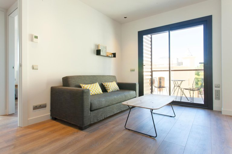 Modern 2-bedrooom apartment for rent in Gràcia, Barcelona