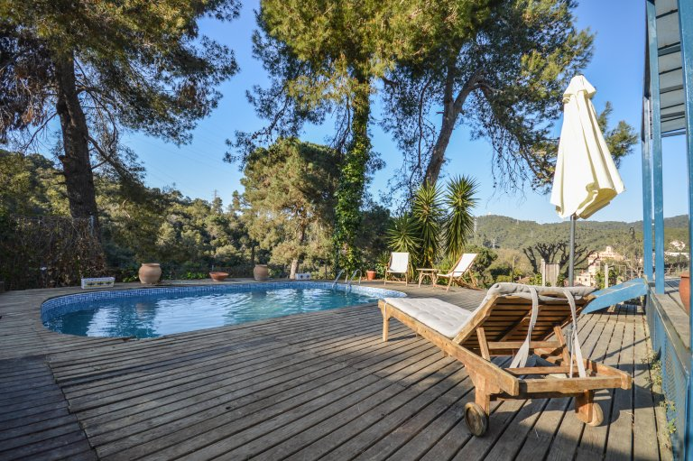 Casa de 4 quartos para alugar em Vallvidrera, Barcelona
