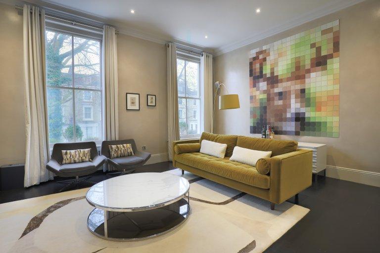 Apartamento de 2 quartos elegante para alugar em Kensington, Londres
