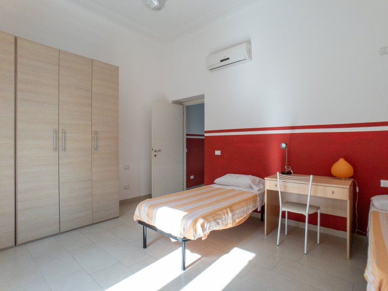 Beds in 1-bedroom apartment for rent in Morivione, Milan