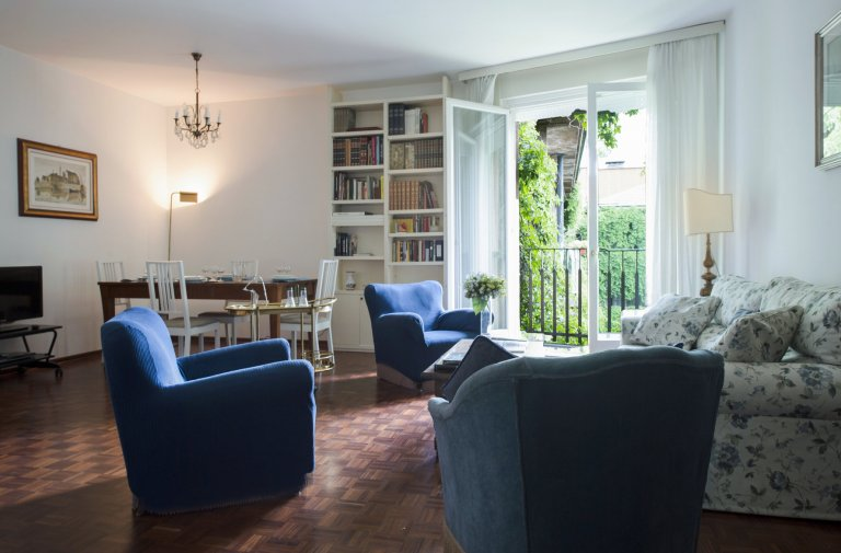 Luxury 3-bedroom apartment for rent in Wagner, Milan