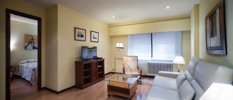 Przytulne 1-pokojowe mieszkanie do wynajęcia w Salamance w Madrycie