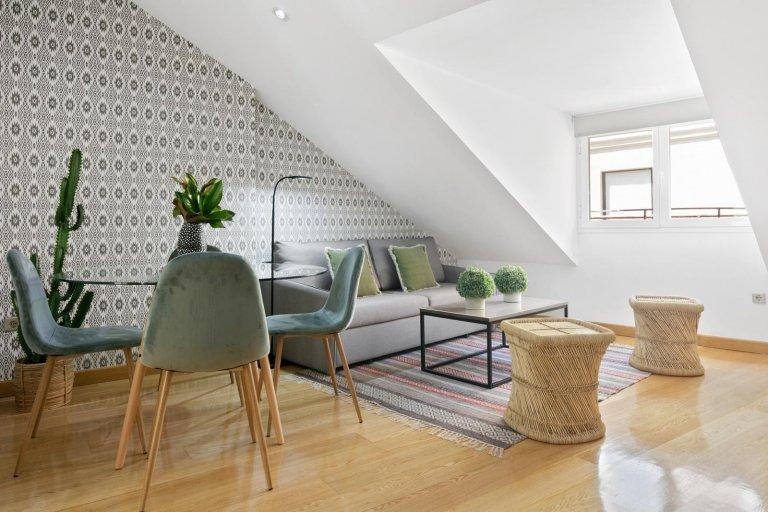Apartamento de 2 quartos para alugar em Malasaña, Madrid