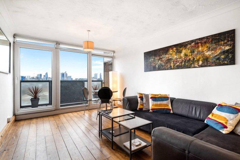Grande apartamento de 2 quartos para alugar em Bethnal Green, Londres