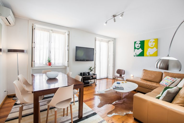 Great 2-bedroom apartment for rent in Rossio, Lisbon