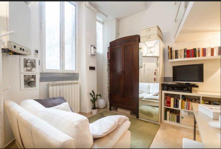 Delizioso monolocale con aria condizionata in affitto a Loreto