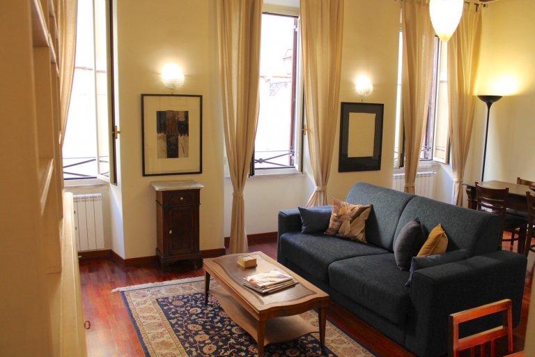 Bel appartement 1 chambre à louer à Trastevere, Rome