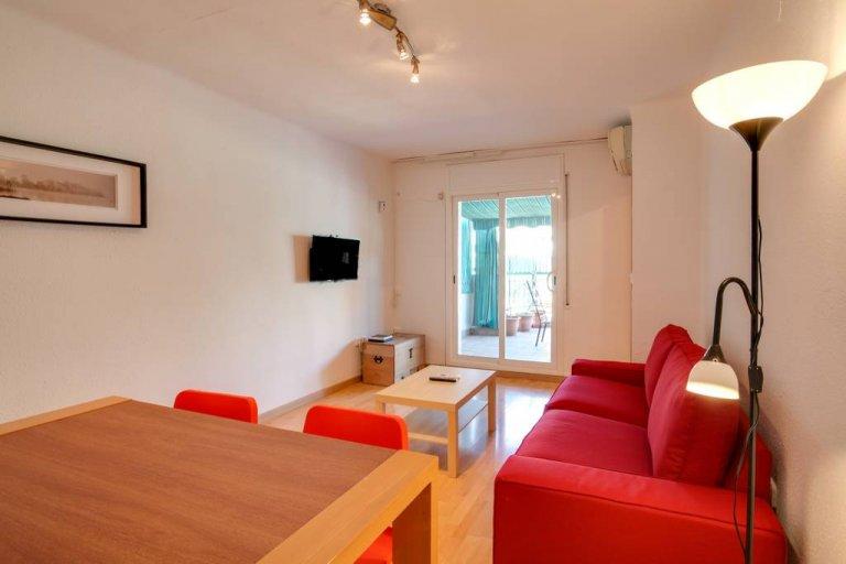 Jasne 3-pokojowe mieszkanie do wynajęcia w Nou Barris, Barcelona