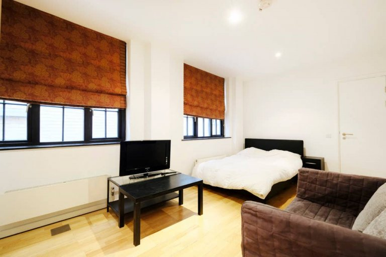 Studio flat to rent in Blackfriars, London