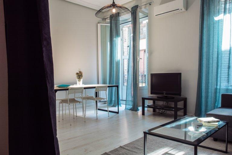 1-pokojowe mieszkanie do wynajęcia w City Center, Madryt