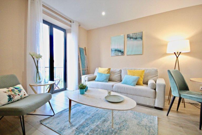 1-pokojowe mieszkanie do wynajęcia w Campo de Ourique, Lisboa