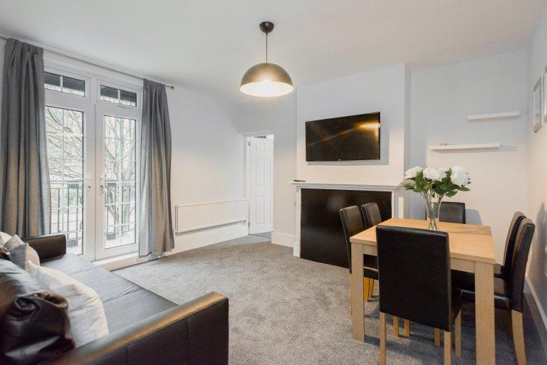 Trendy 4-Zimmer-Wohnung zur Miete in Kings Cross, London