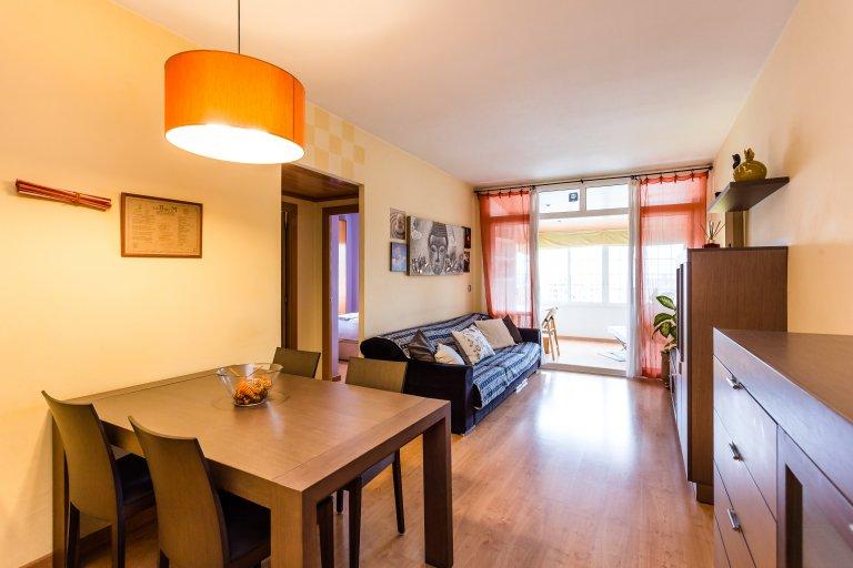 3-bedroom apartment with terrace for rent in Hospitalet de Llobregat