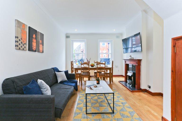 Appartement décontracté de 3 chambres à louer à Farringdon, Londres