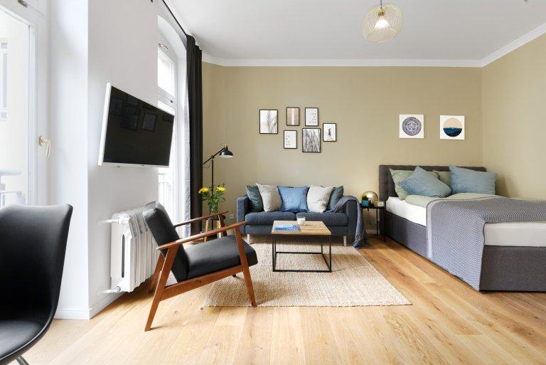 Elegancki apartament typu studio do wynajęcia w Prenzlauer Berg, Berlin