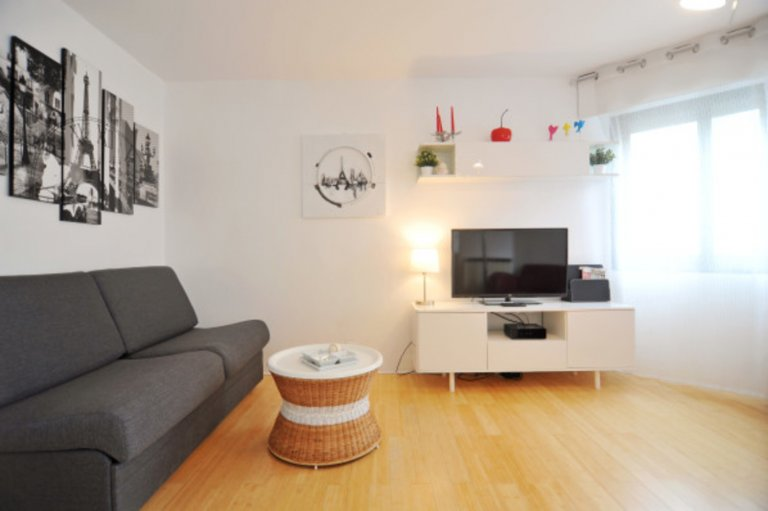 Trendy studio apartment for rent in the 17th arrondissement