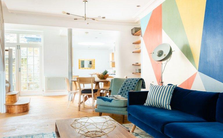 Appartement unique de 3 chambres à louer à Camberwell, Londres
