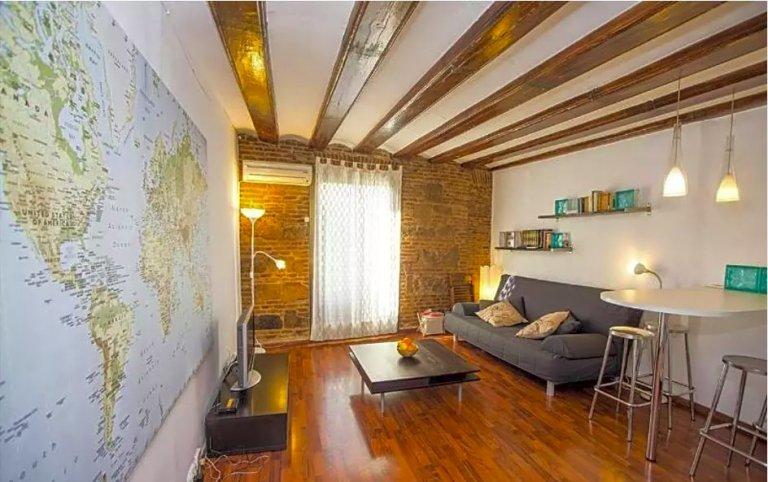 1-bedroom apartment for rent in El Born, Barcelona