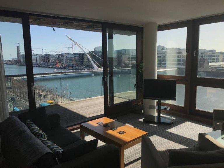 Kuzey Inner City, Dublin'de kiralık şık 3 yatak odalı daire