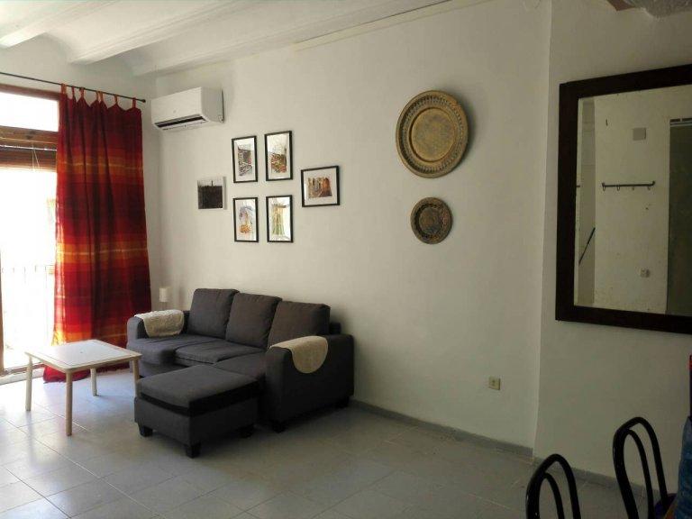 Nice 1-bedroom apartment for rent in Ciutat Vella, Valencia